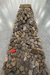 instalación del artista Sarah Misselbrook