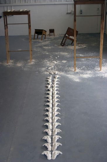 installation artwork by sarah misselbrook