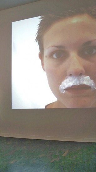 still from performance to camera by sarah misselbrook
