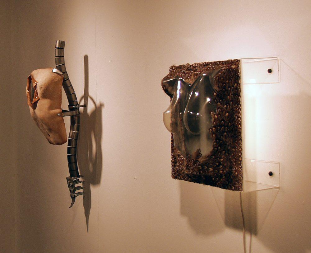 sculptural works by artist sarah misselbrook